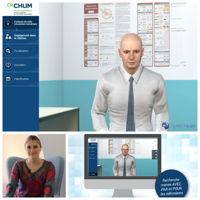 MedicActiV | Virtual simulation platform for the training of health
